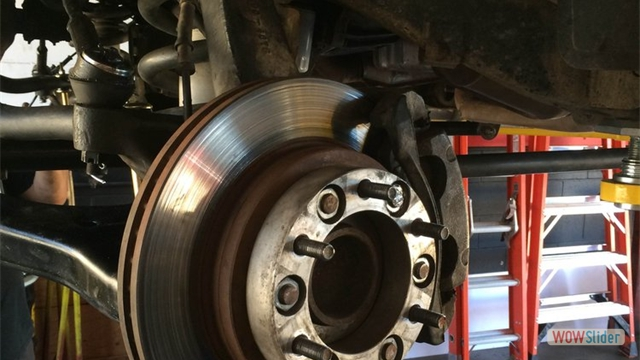 Brake jobs and rotors