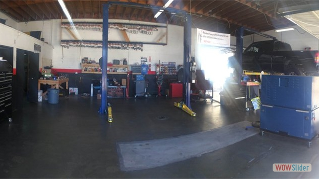 We keep a clean shop and we do clean work